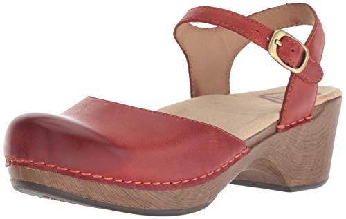 - Dansko Women's Sam Sandal, Coral Waxy Burnished, 36 M EU (5.5-6 US)