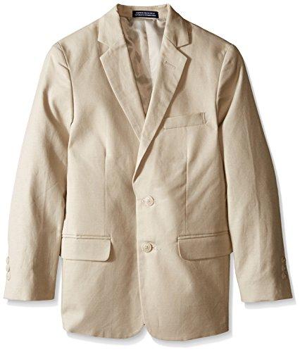Nautica Big Boys' Linen Jacket, Stone, 16