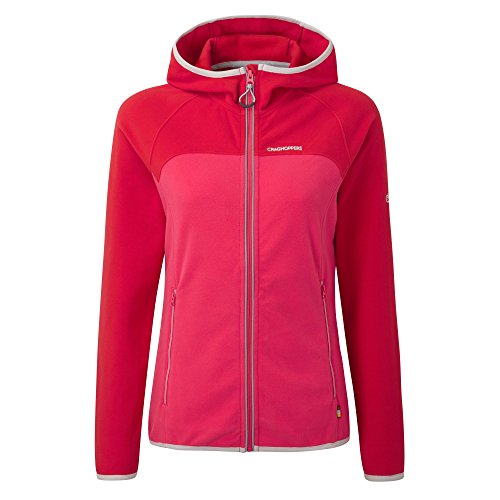 Craghoppers Womens/Ladies Ionic II Lightweight Hooded Warm Jacket Rojo
