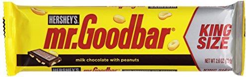 Mr Goodbar Halloween Costume (MR. GOODBAR Candy Bar, Peanuts in Milk Chocolate, 2.6 Ounce Bars (Pack of 18) (Halloween Candy))
