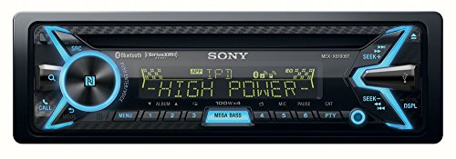 Sony MEX-XB100BT Single DIN Hi-Power Bluetooth In-Dash CD/AM/FM/SiriusXM Ready Car Stereo with 160W RMS (CEA Rated Power) built-in 4-channel Amplifier Discontinued by (Honda Accord Wagon Review)