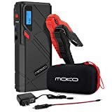 MoKo 1200A Peak Car Jump Starter, 12000mAh Portable Power Bank Battery Booster