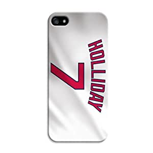 DIY Good-looking MLB St. Louis Cardinals Protective Hard Case for iPhone 5C