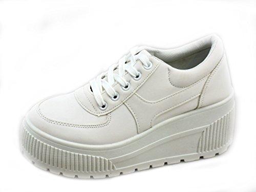 BLANCO Sneakers Rebelde Coolway Lua Para Mujeres 5wqXUgqz