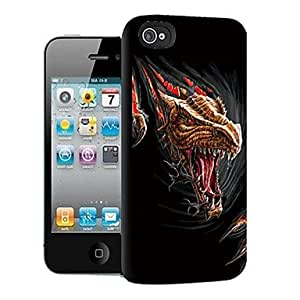 GHK - Dinosaur Pattern 3D Effect Case for iPhone5