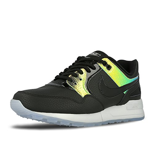 Nike Womens Air Pegasus 89 PRM Running Trainers 844889 Sneakers Shoes (US 8, Black Blue Tint Pure Platinum 002) (Nike Dunk Sky High Black Wedge Sneakers)
