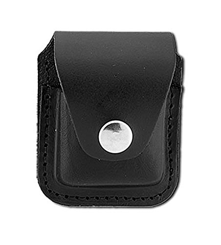 Genuine Black Leather Cigarette Lighter ()