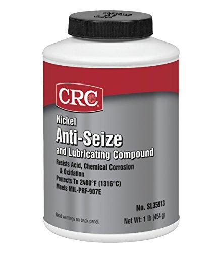 - CRC SL35911 Nickel Anti-Seize Lubricating Compound - 8 wt. oz.