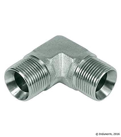selon vos besoins Flexible hydraulique 2SC BSP 200 1 DN06 1//4 AG//AG