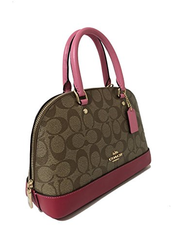 Mini Im Shoulder Khaki Satchel Sierra Coach Shoulder Handbag Multi Women��s Purse Inclined 6wCWBqSx