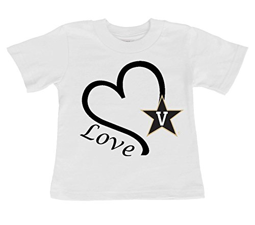 Future Tailgater Vanderbilt Commodores Love Baby/Toddler T-Shirt (6 Months) for $<!--$14.99-->