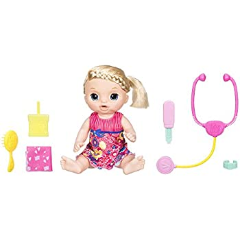 Baby Alive Baby Go Bye Bye Doll Blonde Dollhouses