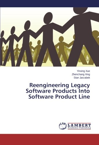 Reengineering Legacy Software Products Into Software Product Line by LAP LAMBERT Academic Publishing