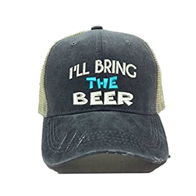 Custom Trucker Hat More Alcohol Custom Distressed Trucker Party Hat Baseball Cap