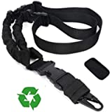 NJBEI Multi-Function Adjustable Camera Strap Sling with Metal Hook [Upgraded], Detachable Shoulder Pad for Cameras…