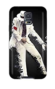 Snap-on Michael Jackson 3 Case Cover Skin Compatible With Galaxy S5