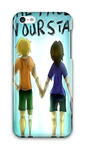 Online Designs fault in our stars in hand PC Hard new iphone 5c case for girls