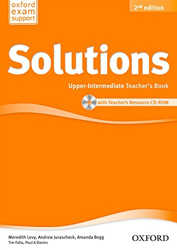 Solutions  Upper Intermediate  Teachers Book And Cd Rom Pack