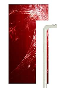 Samsung Galaxy S5 Safflower Light Abstract Art PC Custom Samsung Galaxy S5 Case Cover White