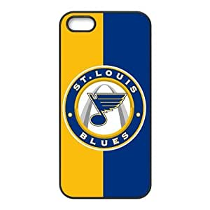 Custom ST Louis Blues Back Cover Case for iphone 5,5S JN5S-1181 by mcsharks