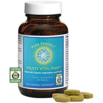 Pure Synergy Wholefood VitaMin Multi 60 Vegetable Tablets by The Synergy Company