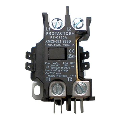 onetrip parts contactor 1 pole 32 amp protactor heavy duty. Black Bedroom Furniture Sets. Home Design Ideas