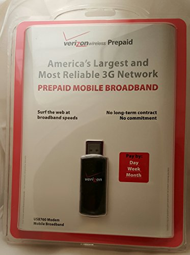 Verizon USB760 Prepaid Broadband Device product image