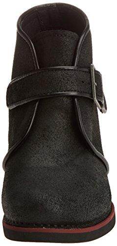 Art Ladies Gran Via Short Boots Black (wax Black 1141)
