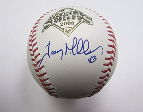 Trevor Miller Autographed Baseball - Phillies Phillies 2008 World Series 137879 - JSA Certified - Autographed ()