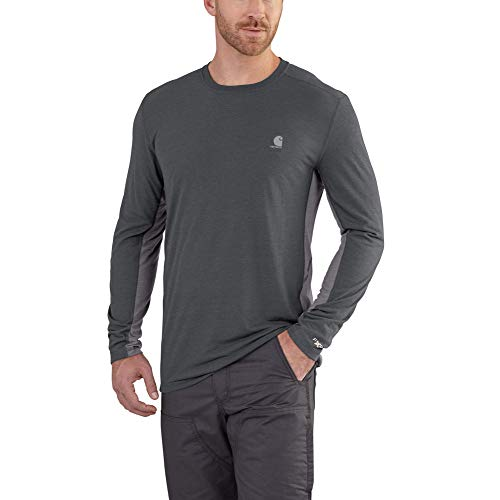 Carhartt Men's Force Extremes Long Sleeve T Shirt Now $14.99 (Was $29.99)