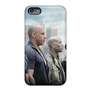 EricHowe Iphone 6 Shockproof Cell-phone Hard Cover Support Personal Customs Realistic Machine Head Band Image [IzD10828bAGX]