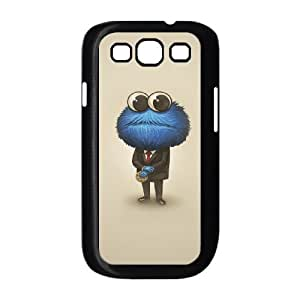 Samsung Galaxy S3 9300 Cell Phone Case Black Cookie Monster 001 VC96NG65