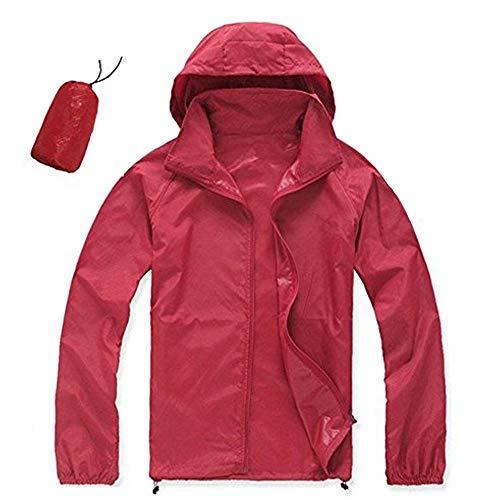 CN-Porter Apparel Women's New Lightweight Waterproof Rain Jacket ()