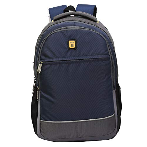 Blowzy Bags Waterproof,College School Bag with Laptop Compartment  Blue