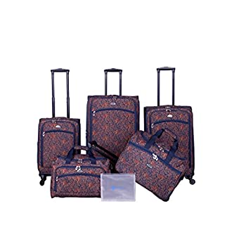 Image of American Flyer Chatham 6-Piece Spinner Set, Metallic Blue