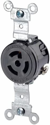 Pass and Seymour 4760  Nema L7-15R 15A 277VAC     Prewired 90 Available