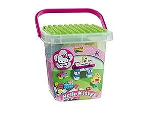 Hello kitty set de bloques simba 8661 juguetes y juegos for Juegos de hello kitty jardin
