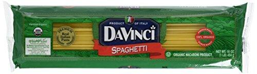 DaVinci Pasta Organic, Spaghetti, 16-Ounce Bags (Pack of 20) by DaVinci (Image #5)