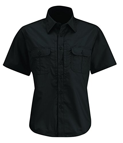 Propper Women's Kinetic Short Sleeve Shirt, Black, X-Large