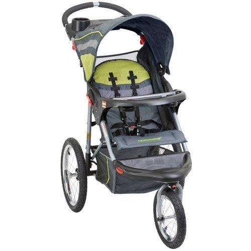 Baby Trend Expedition Jogging Stroller, Carbon (Jogger Safari)