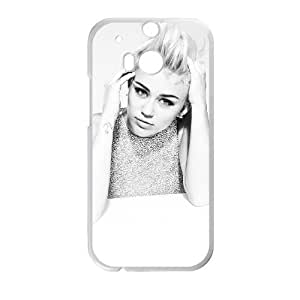 HTC One M8 Cell Phone Case White Miley Cyrus SLI_663025