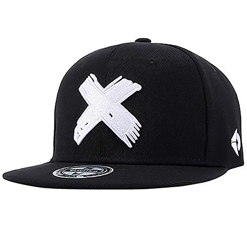 Perfashion Women's Vintage Black Baseball Cap Adjustable Unisex Style Headwear Hip-Hop ()