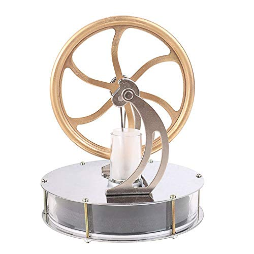 Pextile Low Temperature Stirling Engine Motor Steam Heat Education Model Toy Kit, Stirling Engine Motor - Model Engine, Stirling Engine, Motor Steam, Stirling Engine Kits, Air Engine by Pextile