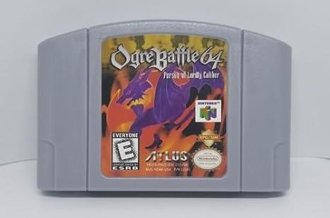 Amazon com: Ogre Battle 64: Video Games