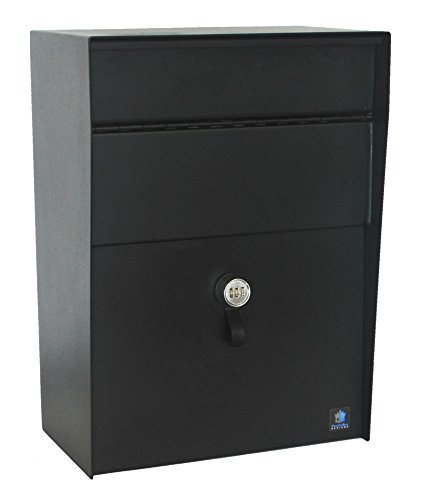 CastleBox Designs Extra Large Locking Wall Mounted Mailbox / Dropbox