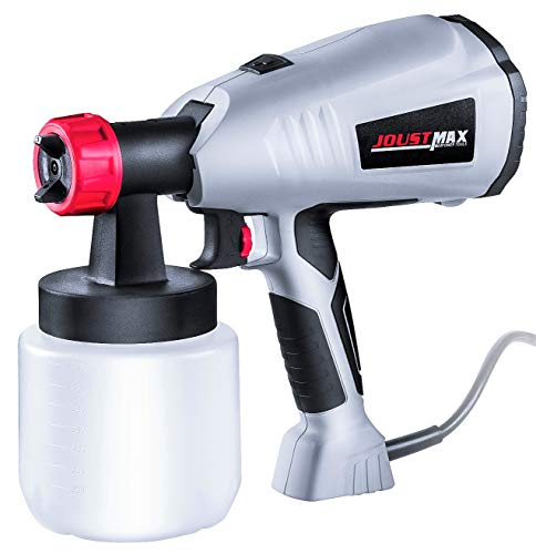 - Paint Sprayer HVLP Spray Gun, Electric Automotive Power Painter Tool for Home Cabinets Furniture Fence Deck