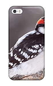 YLWjTHX621eVfRt Anti-scratch Case Cover ZippyDoritEduard Protective Birdie Caught Cold Case For Iphone 5/5s