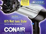 Conair Ceramic Ionic Styler 1875 Watt Hair Dryer 1 ea