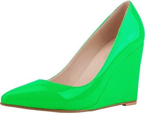 36 Nice Green Find 5 Compensées Sandales Femme Vert TawTdPYqx