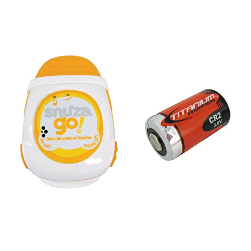 Snuza Go! Portable Baby Movement Monitor + Extra Replacement